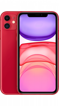 Apple iPhone 11, 128 GB T-Mobile red