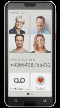 Emporia Smart.5, T-Mobile Edition schwarz