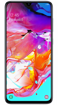 Samsung Galaxy A70 DS, T-Mobile Edition schwarz
