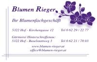 Blumen Rieger